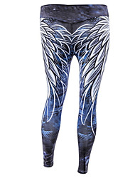cheap -Women's Basic Legging - Geometric, Print Mid Waist