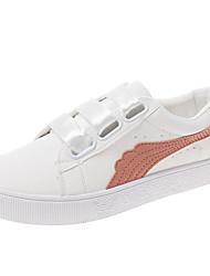 povoljno -Žene Cipele PU Ljeto Udobne cipele Sneakers Ravna potpetica Okrugli Toe Obala / Zelen / Pink