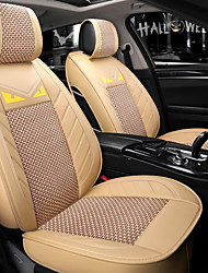 preiswerte -ODEER Autositzbezüge Sitzbezüge Beige Textil Normal for Universal Alle Jahre Alle Modelle