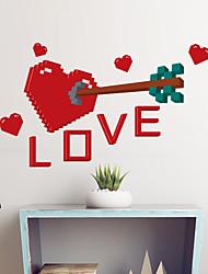 baratos -Autocolantes de Parede Decorativos - Etiquetas de parede de palavras e citações Animais Sala de Estar / Quarto / Banheiro