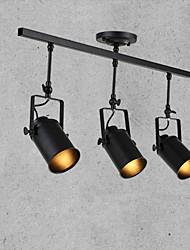 abordables -3 lumières Projecteur Lumière dirigée vers le bas Finitions Peintes Métal 110-120V / 220-240V Ampoule non incluse