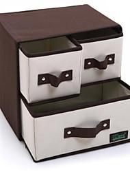 cheap -Oxford Cloth Rectangle New Design Home Organization, 1pc Storage Boxes / Makeups Storage