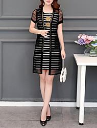 economico -Per donna Blusa A strisce Vestiti