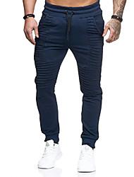 economico -Per uomo Attivo / Essenziale Chino / Pantaloni della tuta Pantaloni - Tinta unita