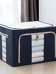 cheap -Oxford Cloth Rectangle Geometric Pattern Home Organization, 1pc Storage Boxes