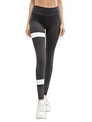 baratos -Mulheres Calças de Yoga Esportes Meia-calça Corrida, Fitness, Ginásio Roupas Esportivas Secagem Rápida, Respirabilidade, Confortável Micro-Elástica