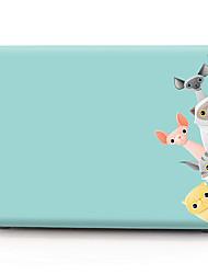 Недорогие -MacBook чехол мультфильм ПВХ для Apple MacBook Air Pro Retina 11 12 13 15 ноутбук чехол для MacBook New Pro 13,3 15 дюймов с сенсорной панелью