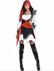 economico -Pirati dei Caraibi / Costumi da pirata Costumi Cosplay / Accessori per capelli Halloween / Carnevale Feste / vacanze Costumi Halloween Nero Collage Cosplay / Halloween