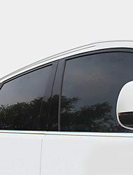 cheap -Black Car Stickers Business High Concealment(Transmittance0-20%) Car Film