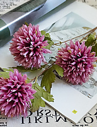 cheap -Artificial Flowers 1 Branch Classic Stylish / European Chrysanthemum Tabletop Flower