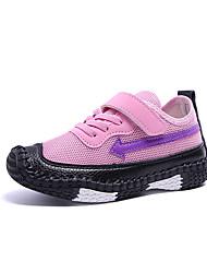 cheap -Girls' Shoes Mesh Fall & Winter Comfort Sneakers Walking Shoes Buckle for Kids Green / Blue / Pink