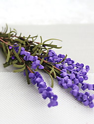 cheap -Artificial Flowers 1 Branch Classic Modern / Contemporary / Simple Style Lavender Tabletop Flower