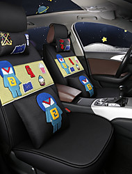 abordables -ODEER Fundas para asiento Cubre asientos Negro / Verde Textil Común for Universal Todos los Años Todos los modelos
