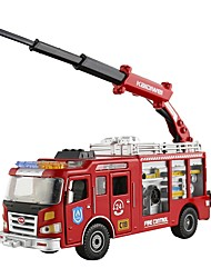 cheap -Toy Car Fire Engine Vehicle Fire Engine Metal Child's Teenager All Boys' Girls' Toy Gift 1 pcs