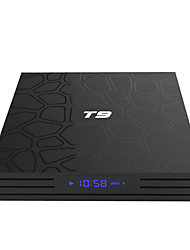 baratos -PULIERDE T9 TV Box Android 8.1 TV Box RK3328 4GB RAM 32GB ROM Octa Core Novo Design