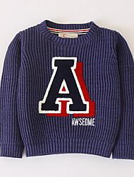 cheap -Kids Boys' Patchwork Long Sleeve Sweater & Cardigan