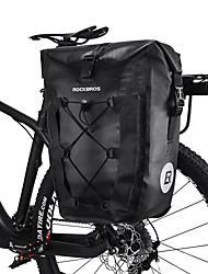Недорогие -ROCKBROS 27 L Waterproof / Сумка на багажник велосипеда / Сумка на бока багажника велосипеда Отражение, Дожденепроницаемый, Со светоотражающими полосками Велосумка/бардачок ТПУ / Нейлон