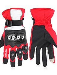 Недорогие -RidingTribe Полныйпалец Универсальные Мотоцикл перчатки Нержавеющая сталь / Микроволокно / Хлопок Сенсорный экран / Водонепроницаемость / Сохраняет тепло