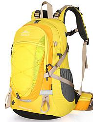 Недорогие -40 L Рюкзаки - Воздухопроницаемость На открытом воздухе Пешеходный туризм, Походы, Путешествия Желтый, Пурпурный, Синий