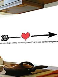 Недорогие -Декоративные наклейки на стены - Стикеры стикеров Words & Quotes Персонажи Кухня / Столовая
