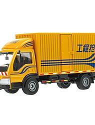 Недорогие -Игрушечные машинки Грузовик Грузовик / Транспортер грузовик Вид на город / Cool / утонченный Металл Все Детские / Для подростков Подарок 1 pcs