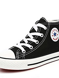 preiswerte -Jungen / Mädchen Schuhe Leinwand Frühling & Herbst Komfort Sneakers Schnürsenkel für Baby Weiß / Schwarz / Blau / Booties / Stiefeletten