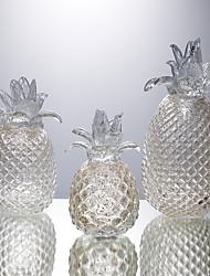 baratos -1pç vidro Moderno / Contemporâneo / Estilo simples para Decoração do lar, Presentes / Objetos de decoração / Home Decorações Presentes