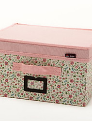 cheap -Polyster Rectangle New Design Home Organization, 1pc Storage Boxes