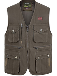 cheap -Men's Basic Vest - Solid Colored, Patchwork