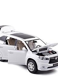 Недорогие -Игрушечные машинки внедорожник Автомобиль Новый дизайн Металлический сплав Детские Для подростков Все Мальчики Девочки Игрушки Подарок 1 pcs