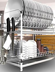 abordables -Organización de cocina Portaherramientas Acero Inoxidable Almacenamiento / Fácil de Usar 1pc