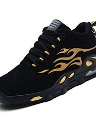 abordables -Homme Semelles légères Polyuréthane Printemps Chaussures d'Athlétisme Basketball Noir et Or / Noir / blanc / Noir / Rouge