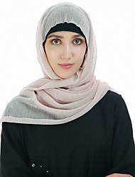 Недорогие -Жен. Классический Хиджаб - Кружева Однотонный