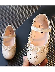 economico -Da ragazza Scarpe PU (Poliuretano) Primavera & Autunno Comoda / Scarpe da cerimonia per bambine Ballerine per Bianco / Rosa