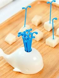 Недорогие -пластик Современный Вилки, Высокое качество 16шт