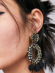 cheap -Women's Hollow / Rope Drop Earrings - Spike Stylish, Bohemian, Korean Pink / Black / White / Light Blue For Daily / Street