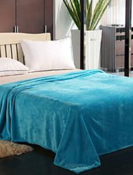 Недорогие -Супер мягкий, Активный краситель Геометрический принт / Сплошной цвет Хлопковый жаккард одеяла