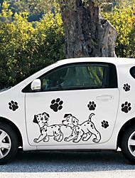 economico -Nero Adesivi auto Cartone animato Adesivi per porte Cartoni animati Adesivi