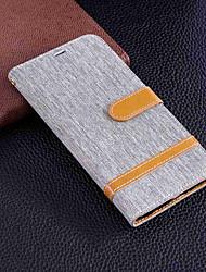 abordables -Funda Para Sony Xperia XA2 Ultra / Xperia XA2 Cartera / Soporte de Coche / con Soporte Funda de Cuerpo Entero Un Color Dura Textil para Xperia XZ1 Compact / Sony Xperia XZ1 / Sony Xperia XZ Premium