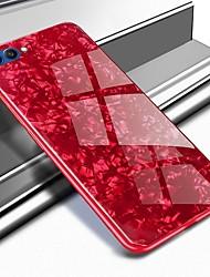 Недорогие -Кейс для Назначение Huawei Honor 10 / Honor View 10(Honor V10) С узором Кейс на заднюю панель Мрамор Твердый Закаленное стекло для Huawei Honor 10 / Honor 9 / Huawei Honor 9 Lite
