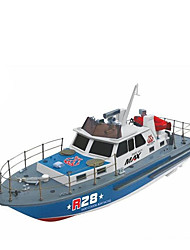 Недорогие -Лодка на радиоуправлении DK00031781 Пластик каналы 6 km/h КМ / Ч