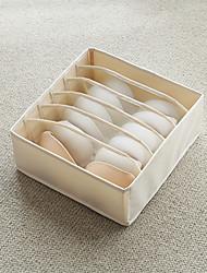 Недорогие -Хлопок / Ткань Прямоугольная Новый дизайн / Творчество Главная организация, 1шт Единицы хранения / Корзины для хранения / Организация одежды