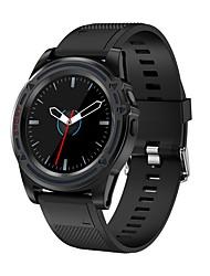 Недорогие -KING WEAR DT18 Смарт Часы Android Bluetooth Водонепроницаемый Сенсорный экран Хендс-фри звонки Фотоаппарат Информация / Педометр / Напоминание о звонке / 0.3 мегапикс. / Датчик для отслеживания сна