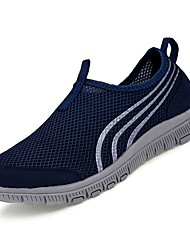 cheap -Men's Mesh Spring Comfort Athletic Shoes Running Shoes Dark Blue / Light Grey / Light Blue