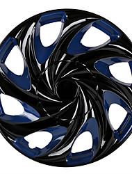 Недорогие -1 шт. Крышка ступицы 13 дюймы / 14 inch Мода пластик / Металл Колпаки на колеса Назначение Универсальный Дженерал Моторс Все года