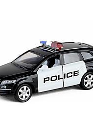 billige -Legetøjsbiler Politibil Bil Nyt Design Metallegering Alle Børne / Teenager Gave 1 pcs