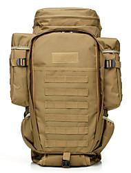 economico -50 L Zainetti / Zaino per escursioni - Indossabile Esterno Militare, Viaggi Oxford Verde militare, Mimetico, Cachi