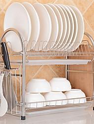 baratos -Organização de cozinha Titulares de panelas Aço Inoxidável Armazenamento / Gadget de Cozinha Criativa 1pç
