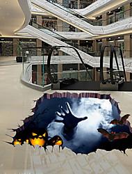 abordables -Autocollants de sol - Autocollants muraux 3D Halloween / 3D Salle de séjour / Chambre à coucher / Salle de bain