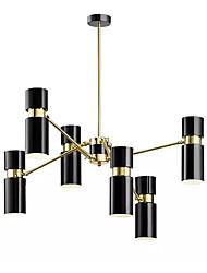 economico -QIHengZhaoMing 6-Light Lampadari Luce ambientale 110-120V / 220-240V, Bianco caldo, Lampadine incluse